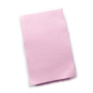 Unwrapped PINK Sunshine® satin Polishing Cloths